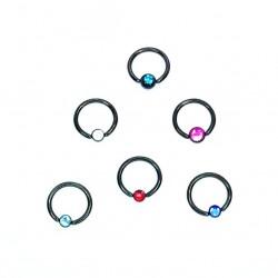 Pack X 10 Bar Closure Ring...